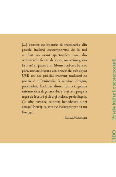 Lido - Poezie italiană contemporană