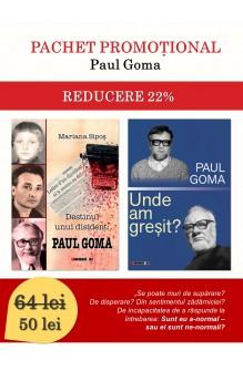 Pachet promoțional Paul Goma